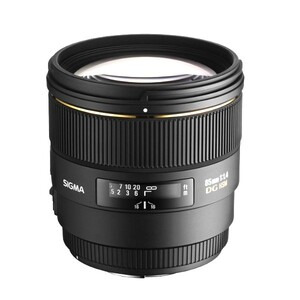 Photo of Sigma 85MM F/1.4 EX DG HSM (Canon Mount) Lens