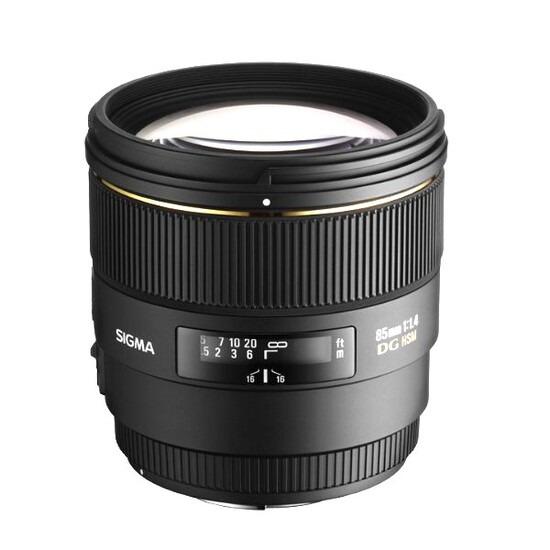 Sigma 85mm f/1.4 EX DG HSM (Canon mount)