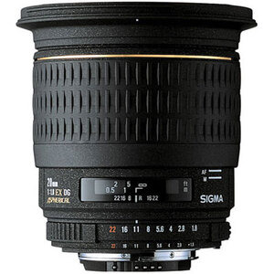 Photo of Sigma 20MM F/1.8 EX DG ASP (Canon Mount) Lens