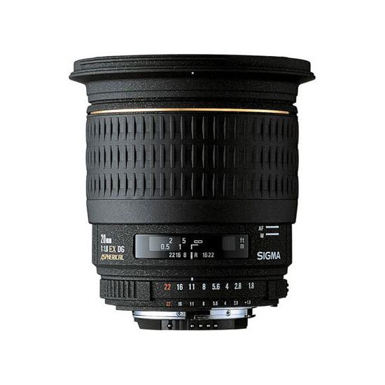 Sigma 20mm f/1.8 EX DG ASP (Canon mount)