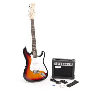 Photo of Johnny Brook Electric Guitar and Amplifier Bundle Toy