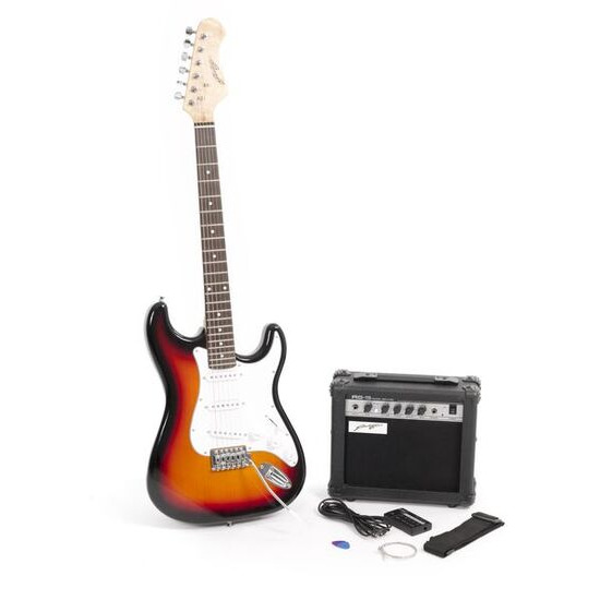 Johnny Brook Electric Guitar and Amplifier Bundle