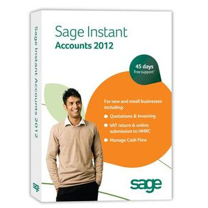 Photo of Sage Instant Accounts 2012 Software