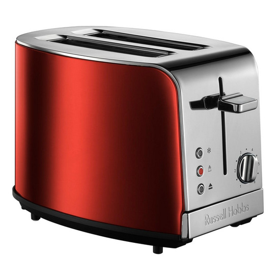 Russell Hobbs Jewels 19350 2-Slice Toaster - Ruby Red