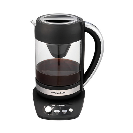 Morphy Richards Cascata Coffee Maker - Black