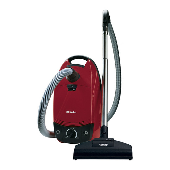 Miele S766 Cat & Dog Cylinder Vacuum Cleaner - Red