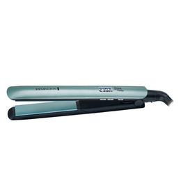 Remington S8500 Morrocan Oil Shine Therapy Hair Straightener - Blue & Black Reviews