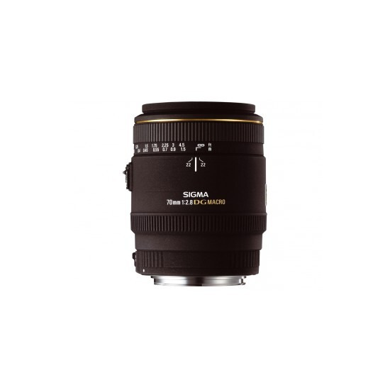 Sigma 70mm f/2.8.EX DG Macro Lens (Nikon AF)