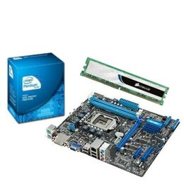 Intel Value Bundle with Asus P8H61-MX SI Motherboard Intel Pentium G620 CPU and 2GB DDR3 Reviews