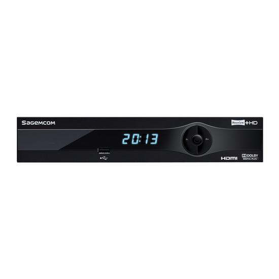Sagemcom RTI95-500 Freeview + HD Recorder 500 GB