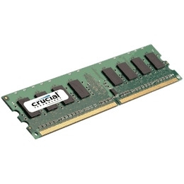 Crucial 1GB PC6400 DDR2 RAM Reviews