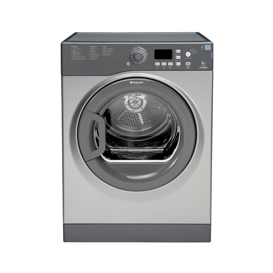 Hotpoint TVFG65C6G Vented Tumble Dryer Graphite