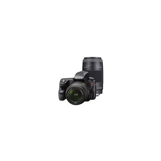 Sony Alpha A37 with 18-55/75-300 lens bundle