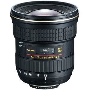 Photo of Tokina AT- X 12-24MM F/4 Pro DX II (Canon Mount) Lens