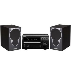 Photo of Denon DM39DAB With Mission MX1  HiFi System