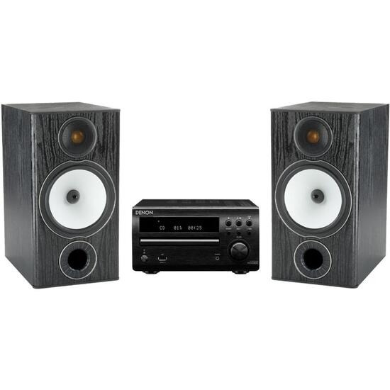 Denon DM39DAB with Monitor Audio BX2