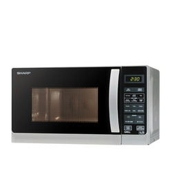 Sharp R662SLM Microwave with Grill - Silver Reviews