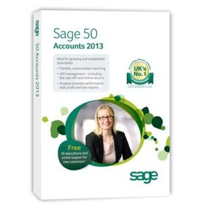 Photo of Sage 50 Accounts Professional 2013 Software