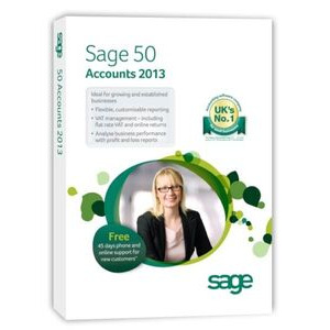 Photo of SAGE 50 ACCOUNTS PLUS 2013 Software
