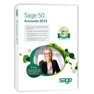 Photo of SAGE 50 ACCOUNTS 2013 Software