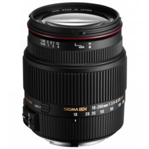 Photo of Sigma 18-200MM F/3.5-6.3 MK2 DC OS Lens