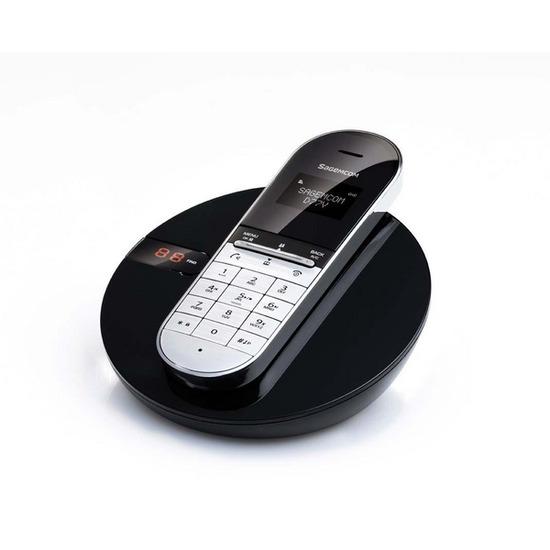 SAGEMCOM D77V Cordless Phone with Answering Machine