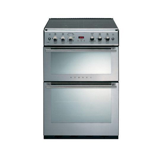 Stoves 61DFDOT Dual Fuel Cooker - Stainless Steel