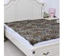 Image of Super Soft Reversible Faux Fur Mink Leopard Pattern Blanket (Size 200x150 cm)