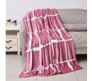 Image of Microfiber Flannel Printed Blanket with Piping (Size 150x200 Cm)
