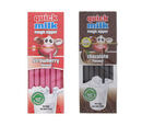 Image of DR Moo: Quick Milk Sipper Chocolate (13) & Quick Milk Sipper Strawberry (13) (Set of 2)