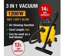 Image of 3 in1 Wet & Dry Vacuum Cleaner