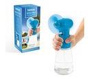 Image of Handheld Water Mist Spray Fan - Blue