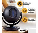 Image of Super Auction - Tors + Olsson Air Pod Bladeless Fan With Remote - Black