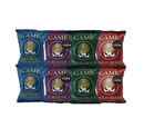 Image of Taste of Game Crisps Variety 8x40g (2 x Wild Duck and Plum Sauce, 2 x Grouse and Whinberry, 2 x Wild Boar and Apple, 2 x Smoked Pheasant and Wild Mushroom)