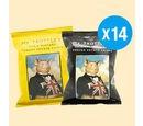 Image of Mr Trotters Gentlemans Provisions Crisps 14 x 40g (7 x Original Scratching, 7 x Ham & Mustard)
