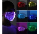 Image of Colour Changing Rechargeable LED Luminous Face Cover (Size 15x21x3 Cm) - White