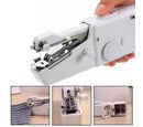 Image of Portable Handy Sewing Machine (Size 21x7.2x4.7cm) - White