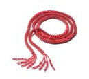 Image of Red Magic Colour Beads Necklace (Size 58)