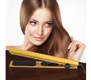 Image of Magestic: Nano Hair Straightener - Silver/Gold