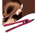 Image of Magestic: 1.25 Hair Straightener - Pink Leopard