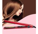Image of Magestic: Nano Hair Straightener - Silver/Red