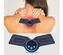 Image of Portable and Multipurpose Mini Massager with USB Cable - Black and Blue