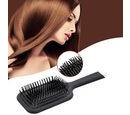 Image of Shungite Infused Hair Brush (Size 26x9.2 Cm) - Black