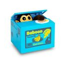 Image of Super Find- Brand New Coin Stealing Monkey Money Box (Size 12x10x9cm) 2x AA batteries not included