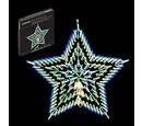 Image of Blue & White LED Star Silhouette