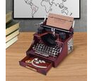 Image of Home Decor Antique Typewriter Musical Jewellery box (Size 14x16x11cm)