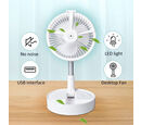 Image of Monster Deal - Electric Power Source and Plastic Material Usb fan 1.USB powered fan, runs on 5 volts DC                             2. Power: 5W
