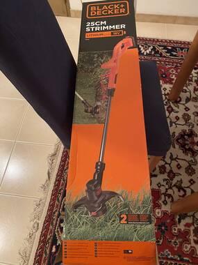 L'utente ha fornito un'immagine di Tagliabordi a filo 450W, ampiezza taglio 25cm