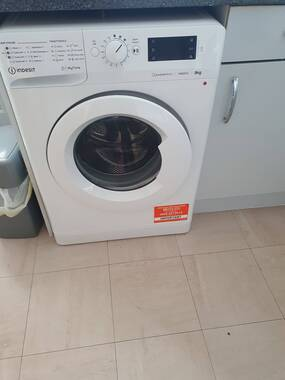 User supplied image of Indesit MTWE 91483 W UK Washing Machine - White