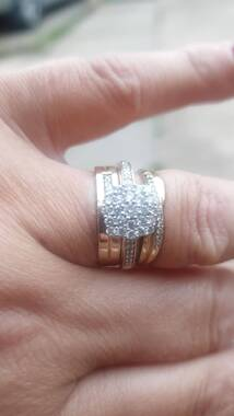 User supplied image of 9K Yellow Gold Diamond (Rnd) Ring 0.500 Ct.